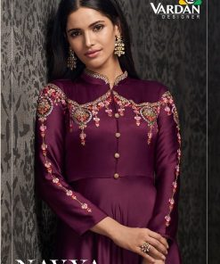 Navya Vol 15 Wholesale Gowns (4 Pcs Catalog)