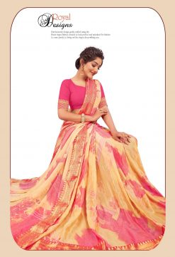 Buy Panchi 10023 Wholesale Sarees - 6 Pcs Catalog