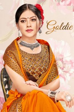Buy Goldie Wholesale Sarees - 8 Pcs Catalog