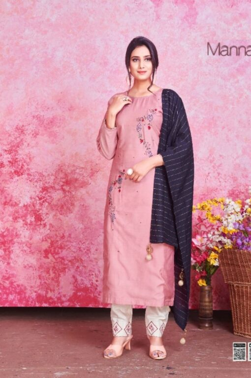 Buy Mannat Wholesale Kurtis with Dupatta - 8 Pcs Catalog