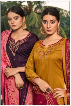 Buy Vrinda Wholesale Salwar Kameez - 4 Pcs Catalog