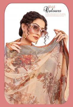 Panchi 10001 Wholesale Sarees - 8 Pcs Catalog