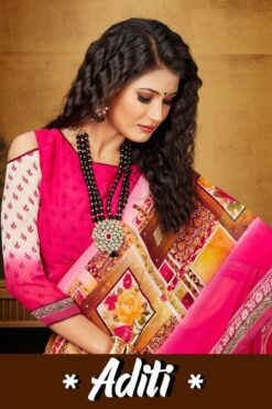 Aditi Vol 1 Sarees - 8 Pcs Catalog