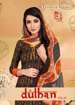 Dulhan Vol 2 Churidar Materials - 16 Pcs Catalog