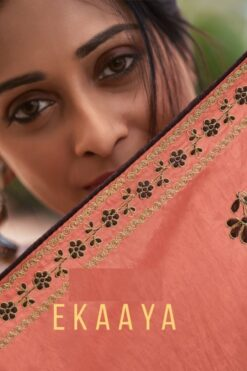 Ekaaya Designer Dress Materials (8 Pcs Catalog)