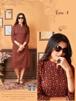 Kaira Vol 2 Kurtis - 8 Pcs Catalog