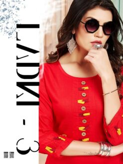 Ladki Vol 3 Kurtis - 10 Pcs Catalog