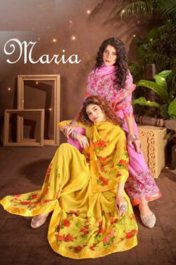 Maria Vol 2 Sarees - 8 Pcs Catalog