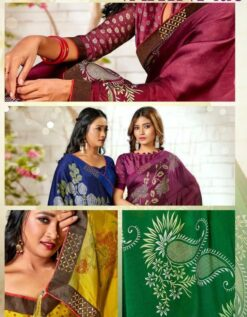 Vahini Vol 3 Sarees - 8 Pcs Catalog