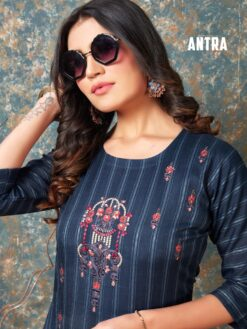 Antraa Wholesale Kurtis - 8 Pcs Catalog